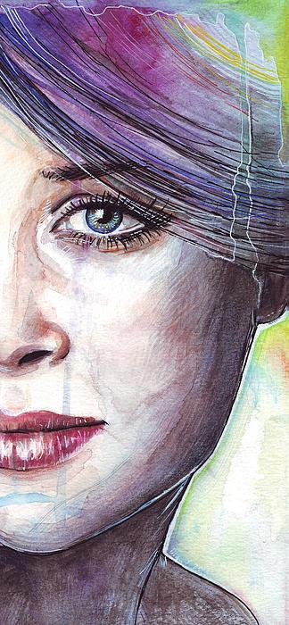 Prismatic Visions Print by Olga Shvartsur