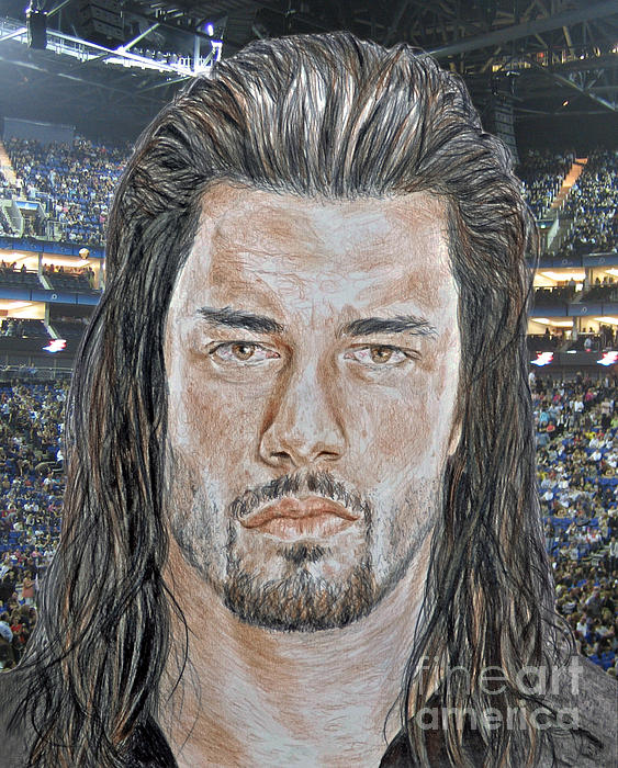 Jim Fitzpatrick - Pro Wrestling Superstar Roman Reigns II