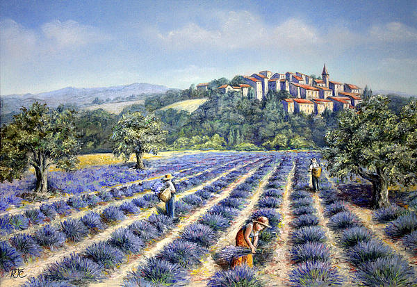 Rosemary Colyer - Provencal Harvest