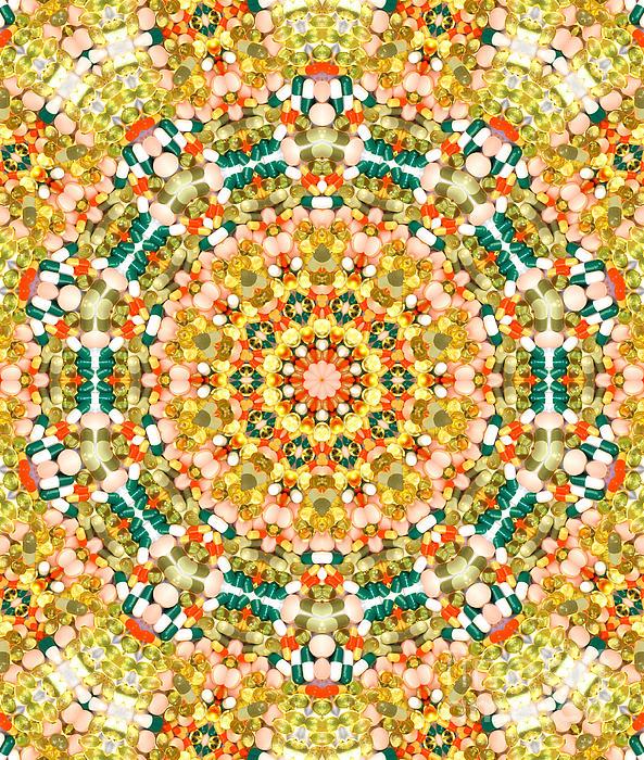 Psychedelic Pattern Print by Jose Elias - Sofia Pereira
