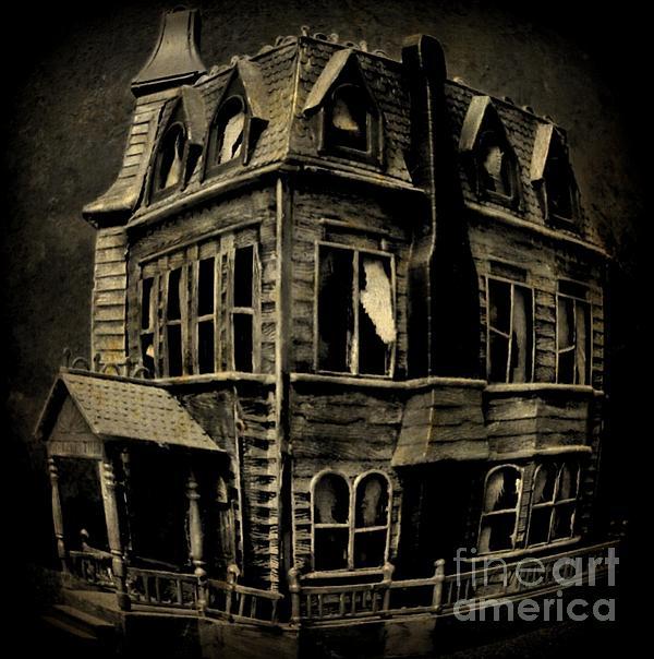 Psycho Mansion Print by John Malone