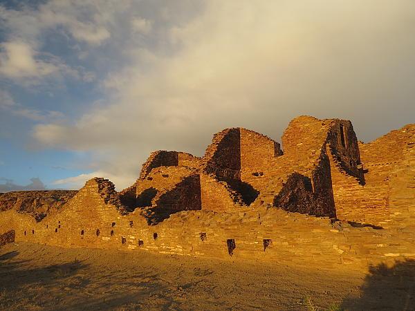 Pueblo Del Arroyo At Sunset II Print by Feva  Fotos