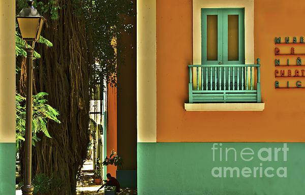 Debra Chmelina - Puerto Rico Balcony