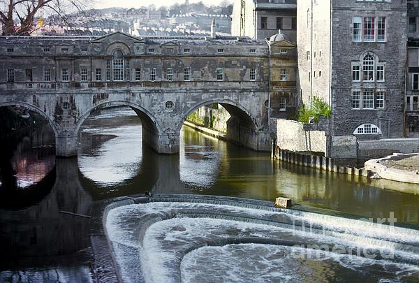 Pulleney Bridge Print by Bob Phillips