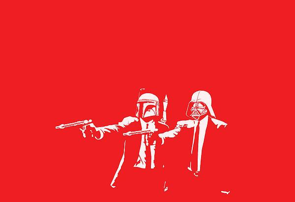 Pulp Wars Print by Patrick Charbonneau