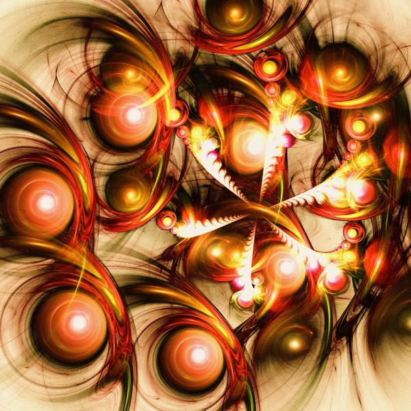 Pure Energy Print by Anastasiya Malakhova
