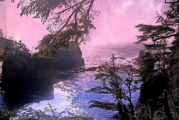 Purple Haze Print by Marty Koch