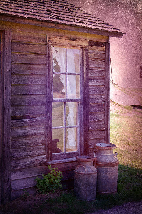 Purple Haze On The Prairie Print by Judy Hall-Folde