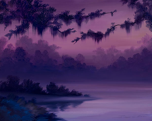 Purple Jungle by James Christopher Hill
