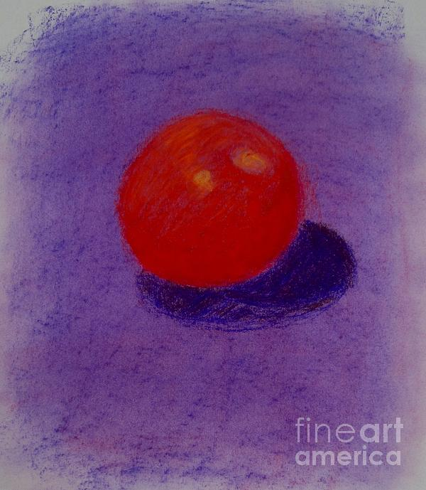 Purple Orange Print by Christopher Murphy