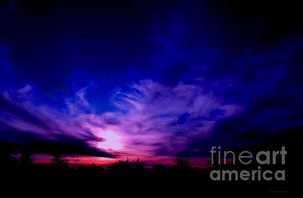 Tambra GrahamLewis - Purple Sunset