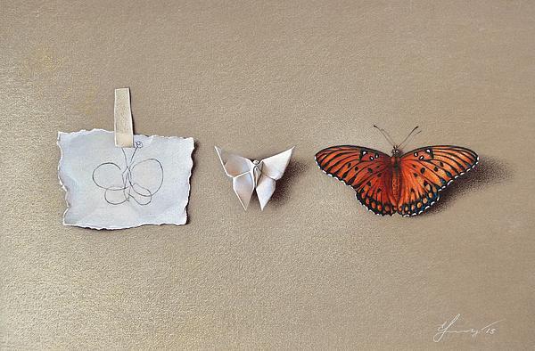 Pursuit Of A Dream Print by Elena Kolotusha