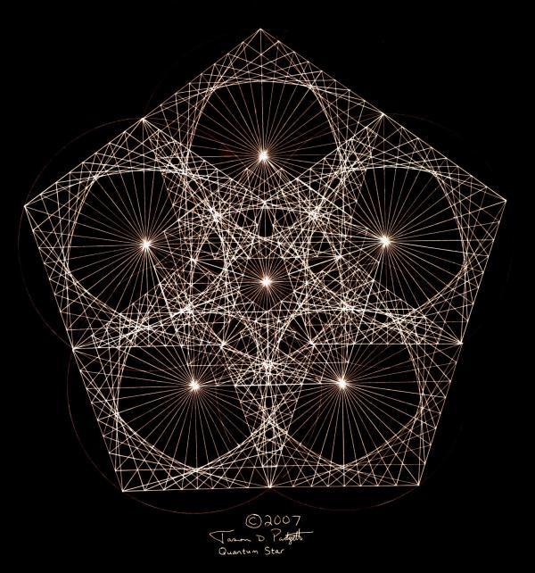 Quantum Star II Print by Jason Padgett