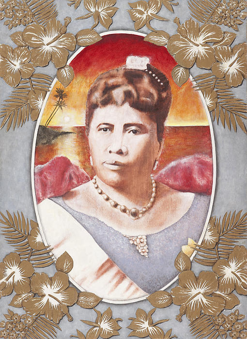 Queen Lili'uokalani Print by Alan Fine