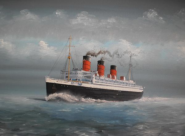 Queen Mary Print by James McGuinness