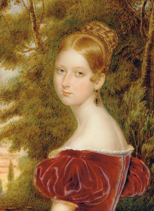 Queen Victoria Print by Henry Collen