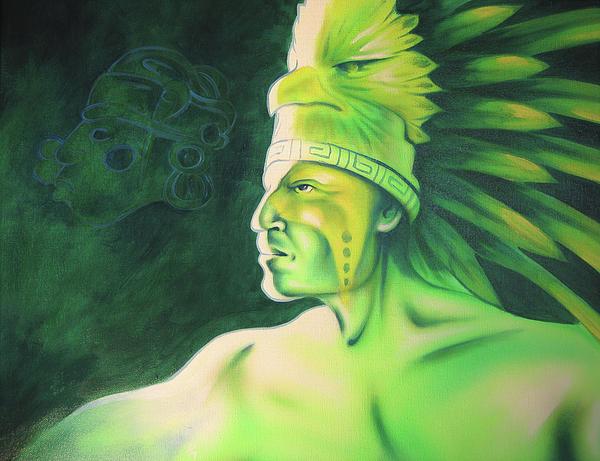 Quetzal Print by Robert Martinez
