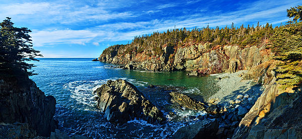 Bill Caldwell -        ABeautifulSky Photography - Quoddy Head Cove Panorama