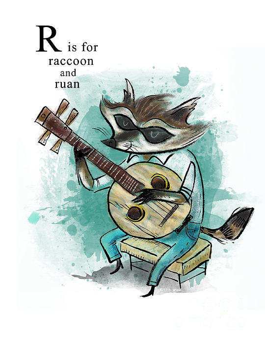 R Is For Raccoon R Is For Raccoon by Se...