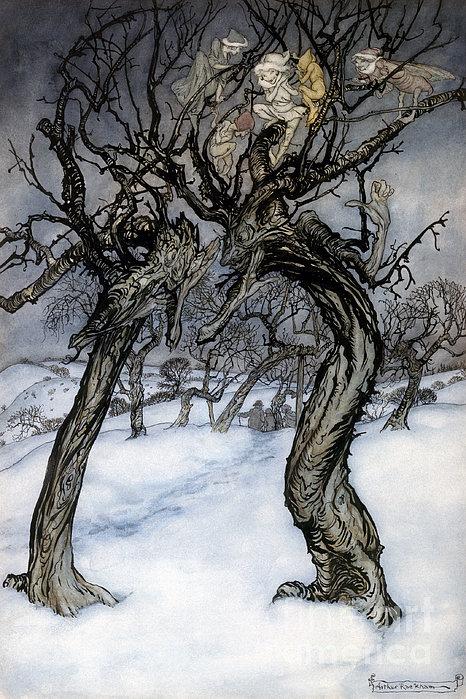 Rackham: Whisper Trees Print by Granger