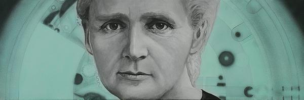 Radium- Marie Curie Print by Simon Kregar