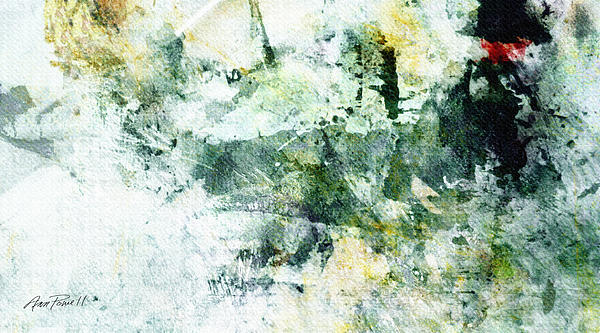 Ragtime Abstract  Art  Print by Ann Powell