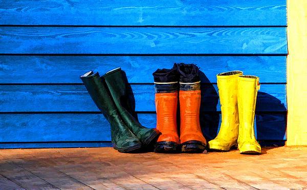 Nathalie Duhaime - Rain Boots