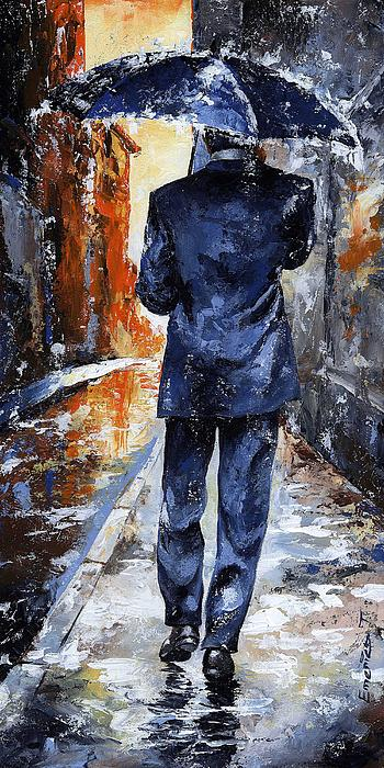 Rain Day #20 Print by Emerico Imre Toth