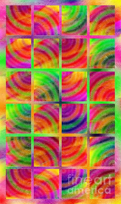 Rainbow Bliss 3 - Over The Rainbow V Print by Andee Design