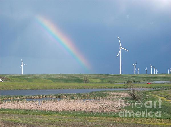 Rainbow Delight Print by Angela Pelfrey