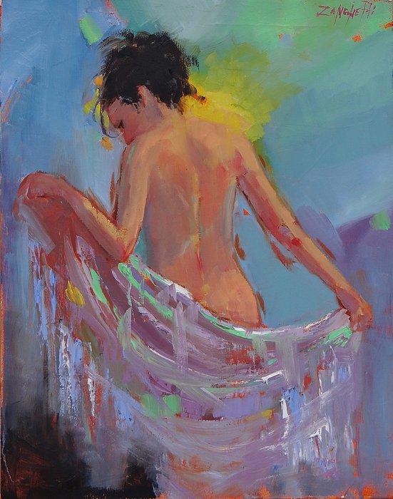 Rainbow Print by Laura Lee Zanghetti