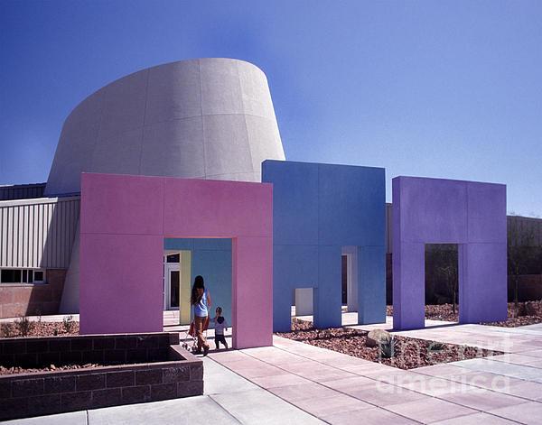 Rainbow Library Las Vegas by Ros Drinkwater
