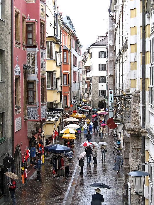 Ann Horn - Rainy Day Shopping