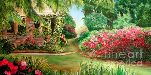 Rose garden by shelia kempf for Raleigh little theater rose garden