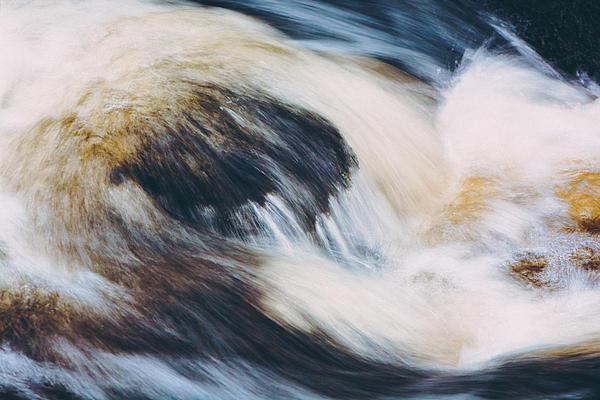 Rapids In Wilderness Print by Ari Salmela