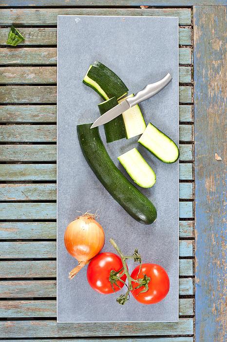 Raw Ingredients Print by Tom Gowanlock