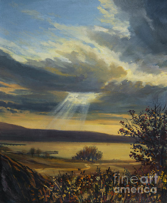 Ray Of Light Print by Kiril Stanchev
