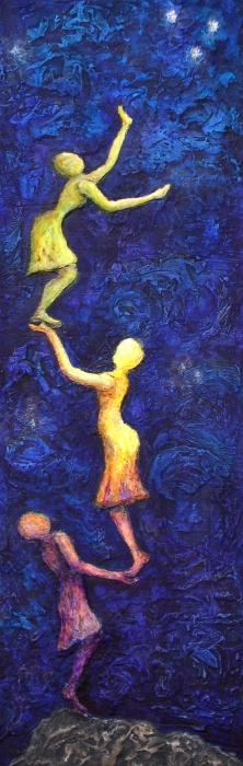 Reach For The Stars Print by Linda Carmel