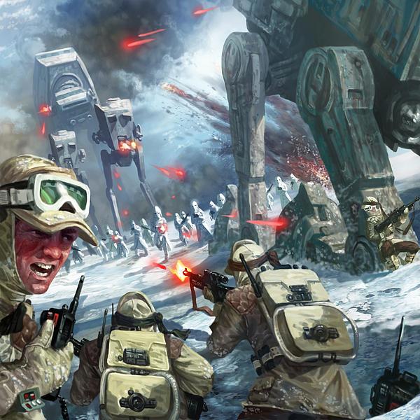 Rebel Rescue Print by Ryan Barger