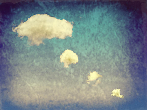 Recycled Clouds Print by Amanda And Christopher Elwell