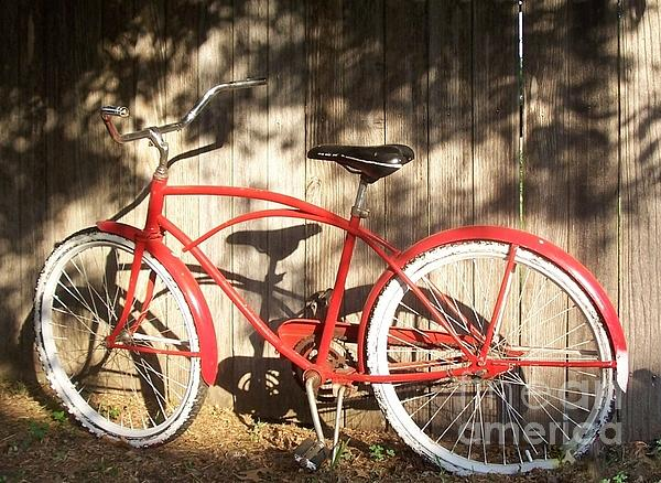 Susan Williams - Red Bike