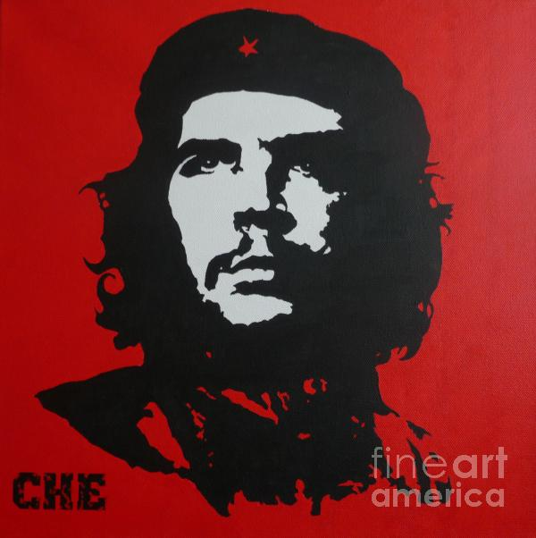 Red Che Print by ID Goodall