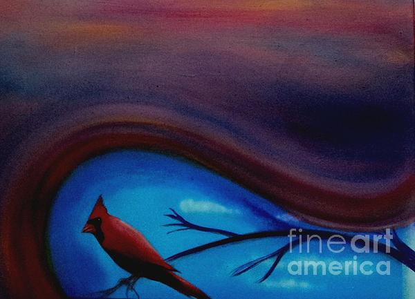 Red Print by Cynthia Vaught