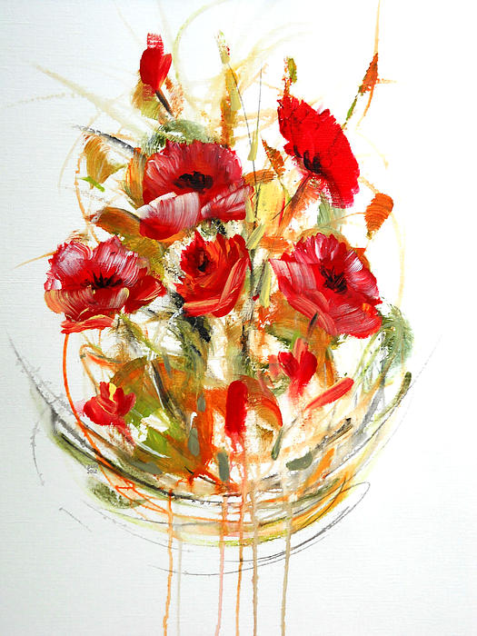 Dorothy Maier - Red Flowers
