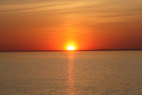 John Telfer - Red-Hot Sunset