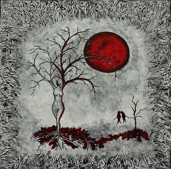 Sylvia Sotuyo - Red moon