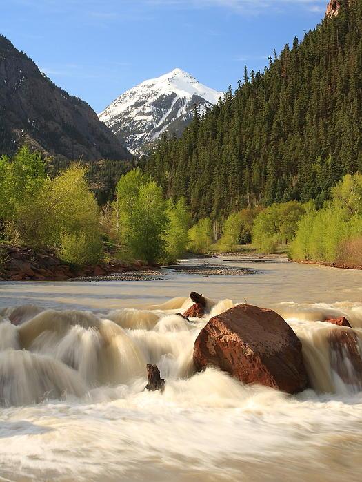 Scott Rackers - Red Mountain snowmelt