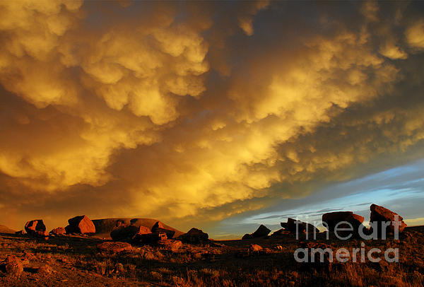 Vivian Christopher - Red Rock Coulee Sunset
