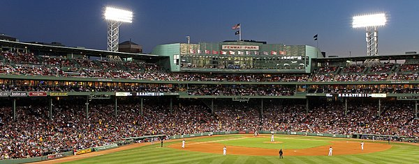 Red Sox And Fenway Park  Print by Juergen Roth