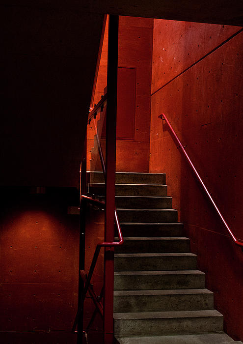 Elena Nosyreva - Red stairs